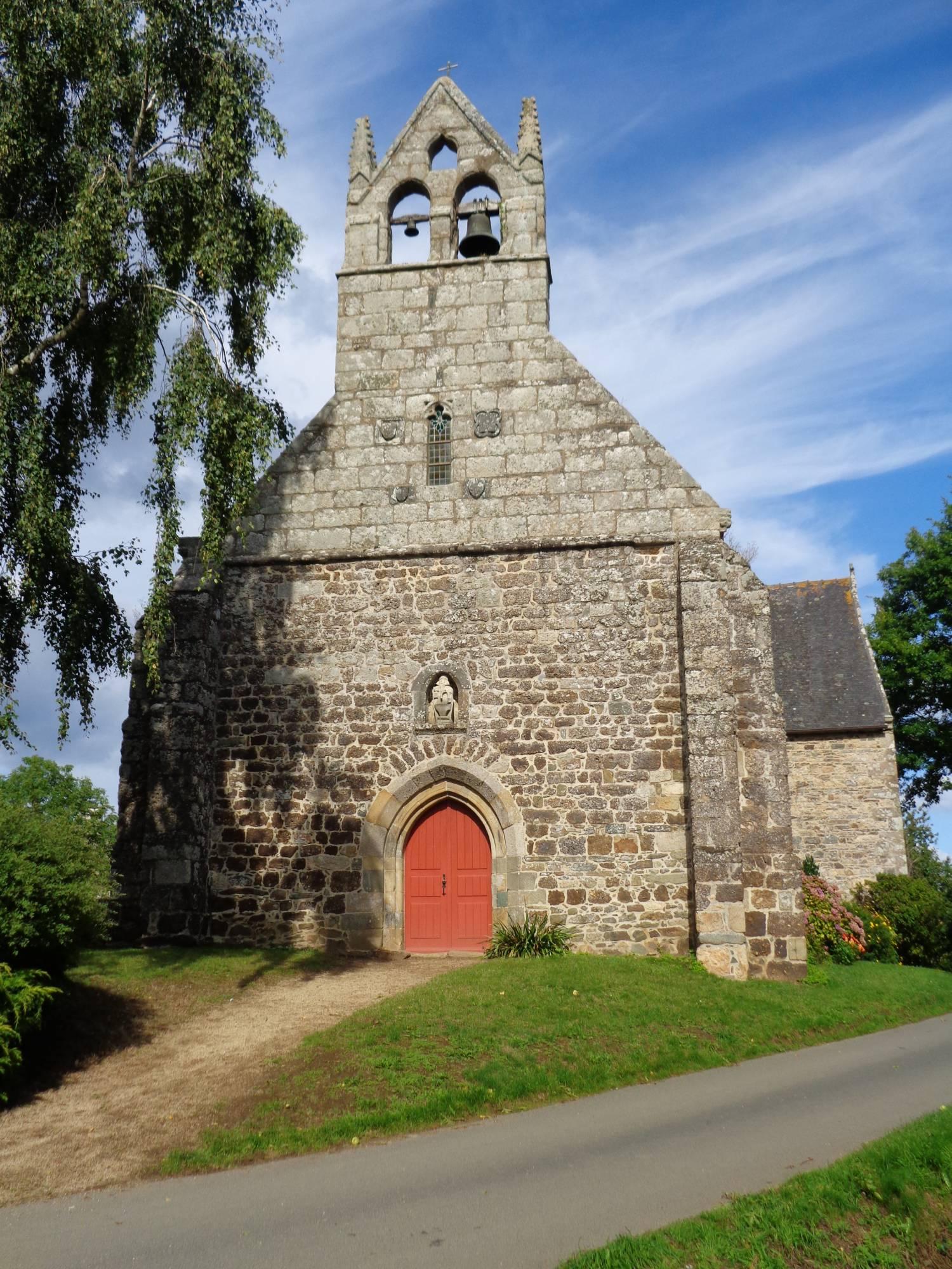 Lannebert (22) - Chapelle ND-des-Septs-Douleurs de LiscornoLe moen Arch