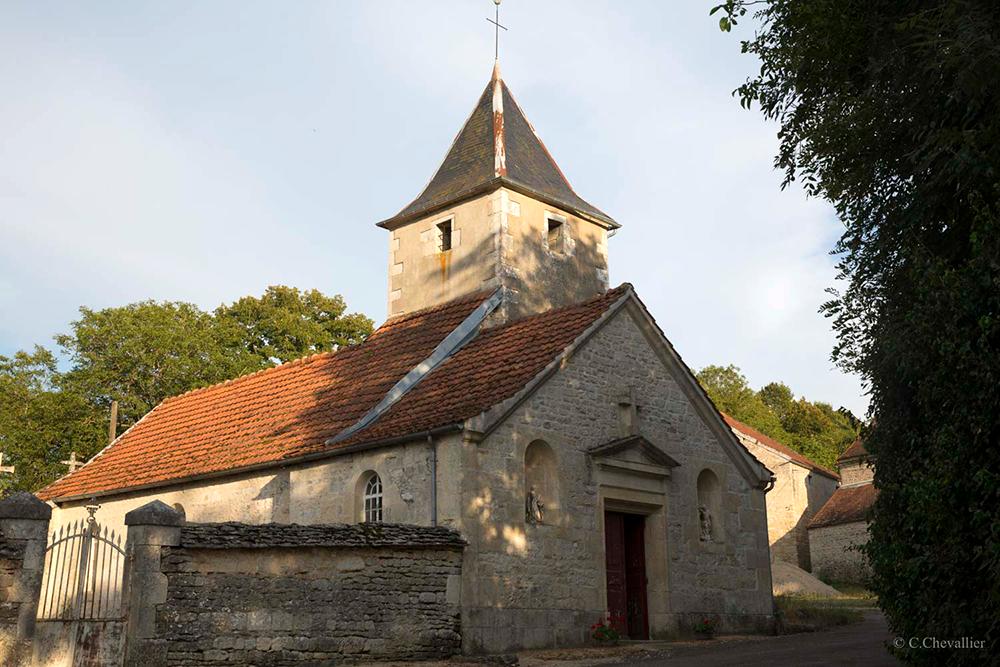 Chaugey (21) - église Saint-Sulpice