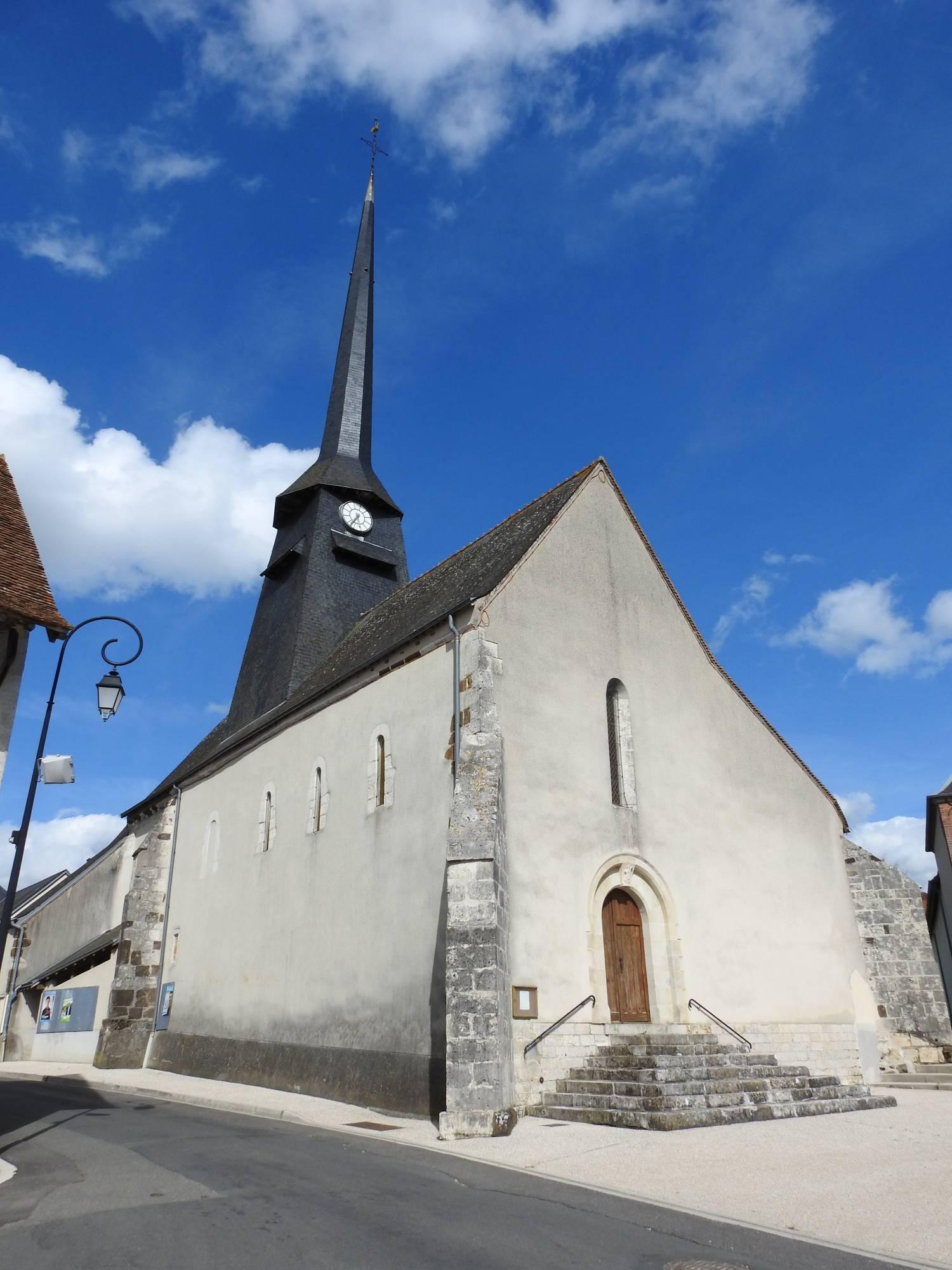 Pierrefitte-ès-Bois (45) - église Saint-Amâtre