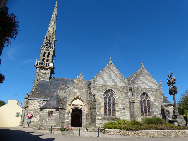 Loperec (29) - Eglise Saint-Perec