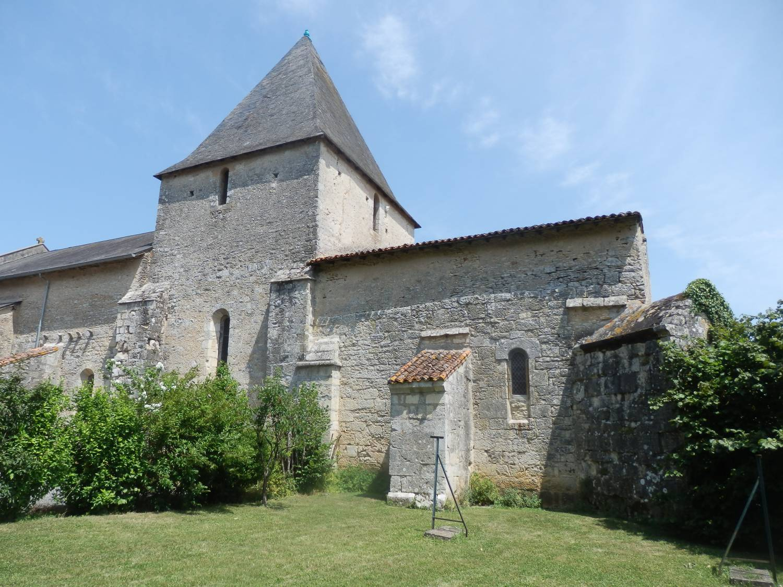 Payroux (86) Eglise Notre-Dame Fondation SAF