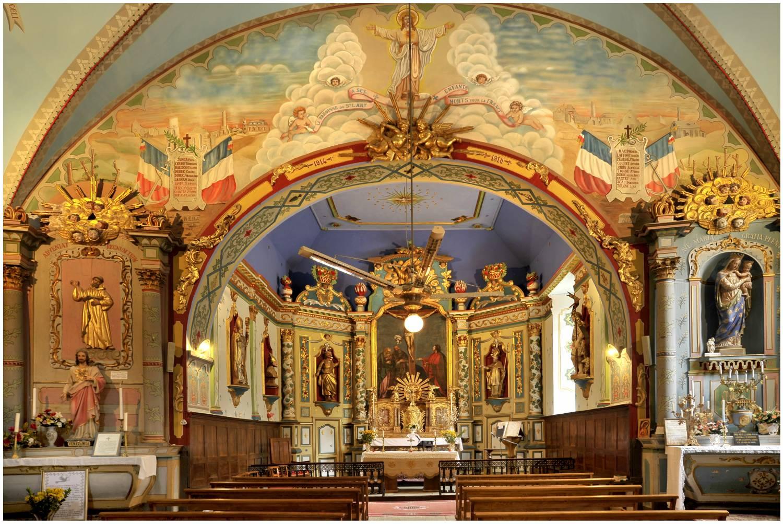 La Sauvegarde de l'ArtFrançais -Saint-Lary (09) église Saint-Hilaire