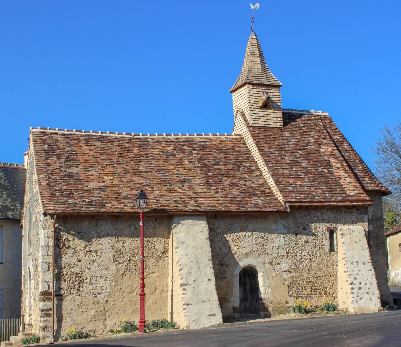 Saint-Goeorges-de-la-Couée (72) Chapelle Saint-Fraimbault - La Sauvegarde de l'Art Français