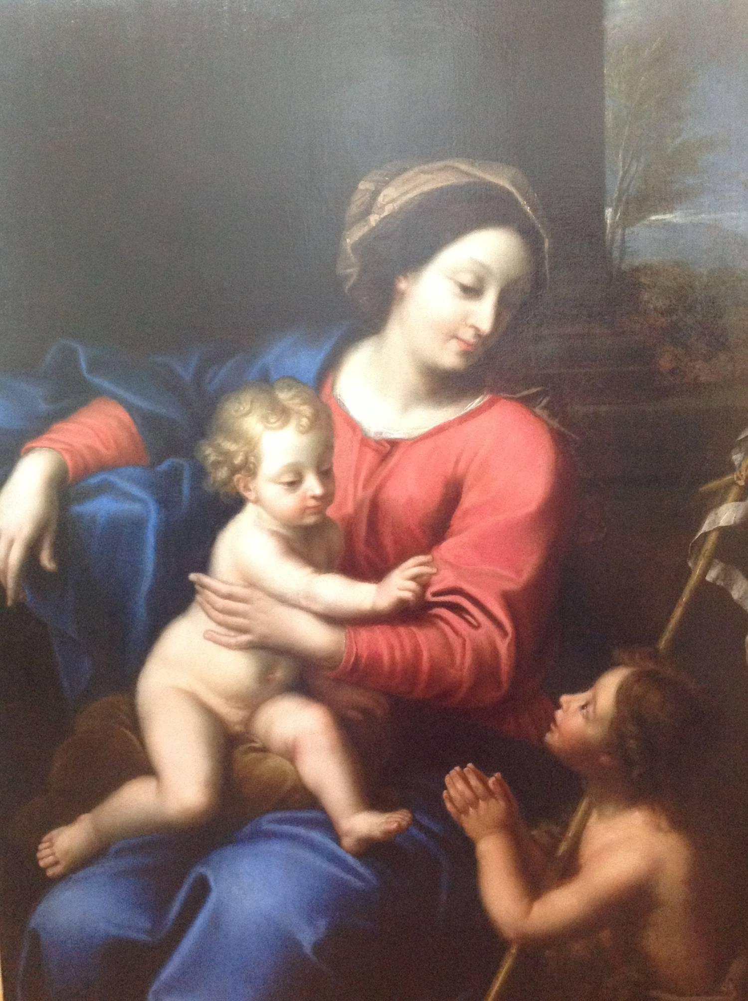 La Vierge et l'Enfant et Saint Jean-Baptiste