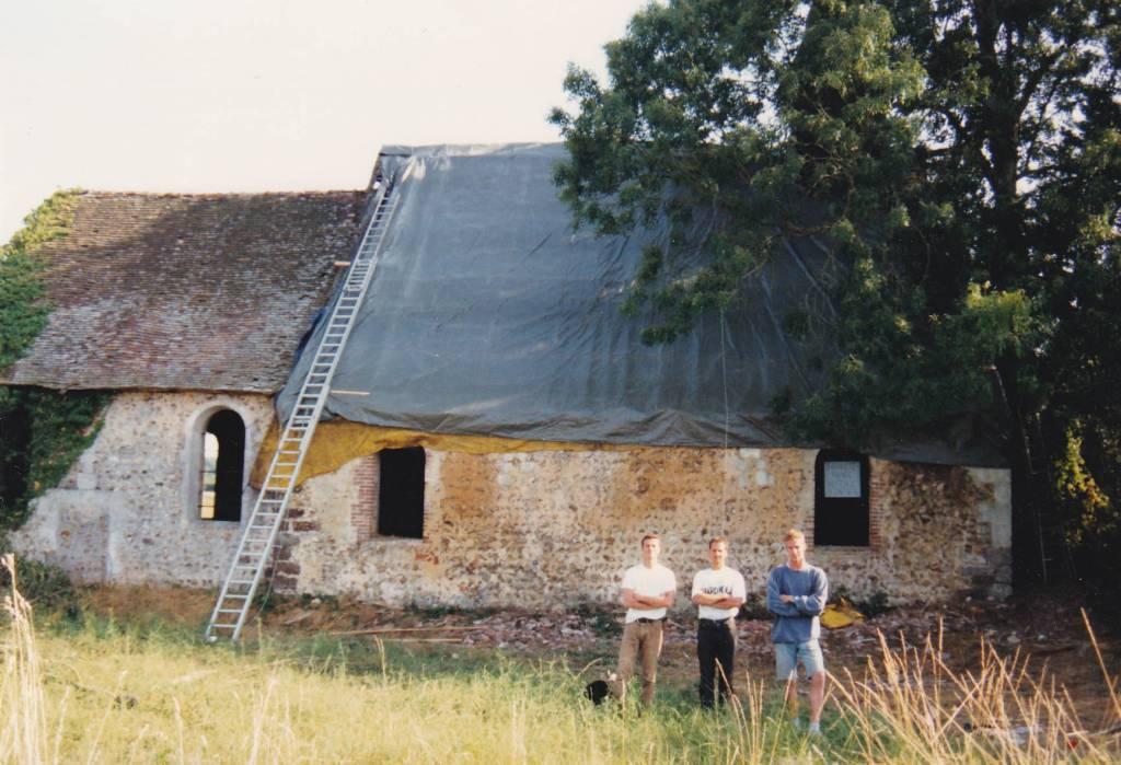 1993 Beaumesnil (27) - église de Pierre-Ronde - La Sauvegarde de l'Art Français