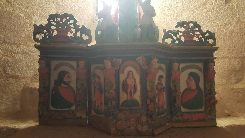 Chavanac (19- - église, tabernacle, Sauvegarde de l'Art Français