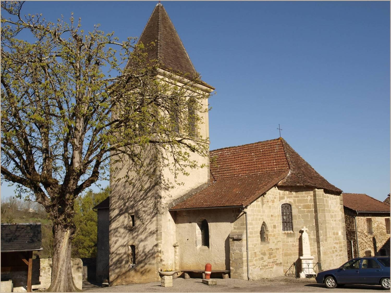 Saint-Vincent du Pendit (46) - église Saint-Vincent