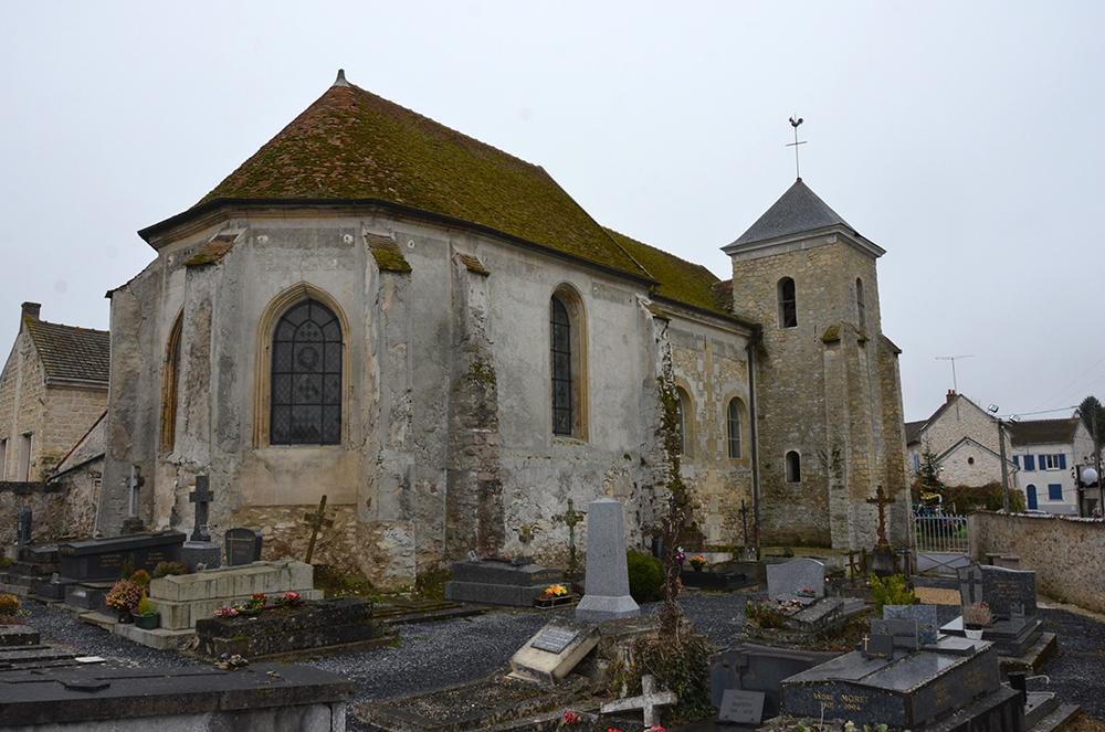 Lassy (95) - église ND de la Nativité - La Sauvegarde de l'Art Français