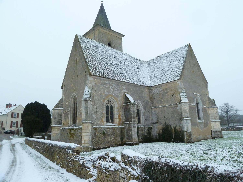 Cuncy-les-Varzy (58) - Église Saint-Martin - La Sauvegarde de l'Art français