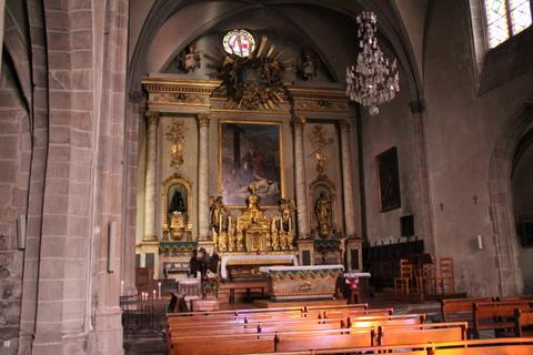 Murat (15) Eglise Notre-Dame des Oliviers