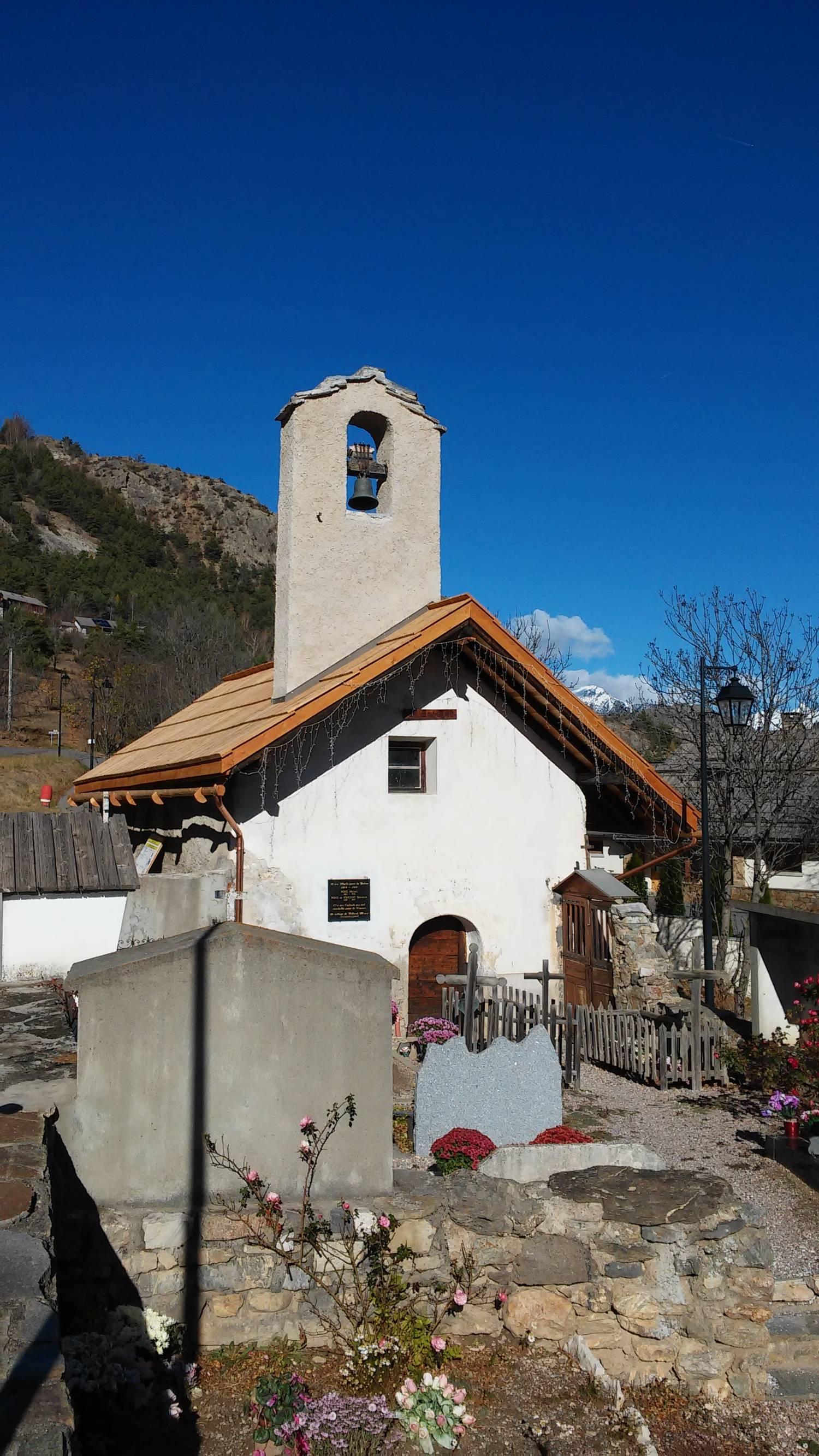 Saint-Martin de Queyrières - chapelle Saint-Antoine de Villard Meyer (05)