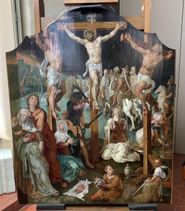 La crucifixion – Maarten van Heemskerck