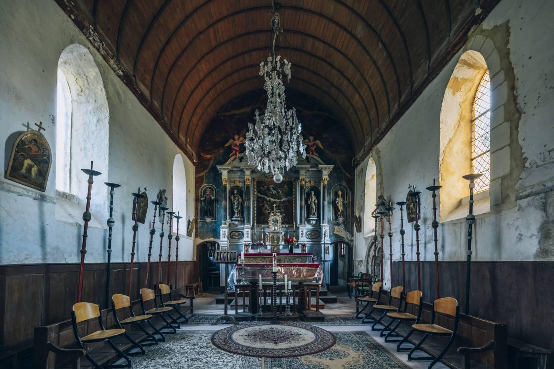 Cordebugle (14) Eglise Saint-Pierre-Saint-Paul - Suavegarde de l'Art Français