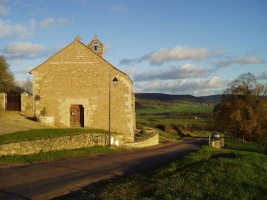Fain-les-Moûtiers (21) - chapelle Saint-Georges