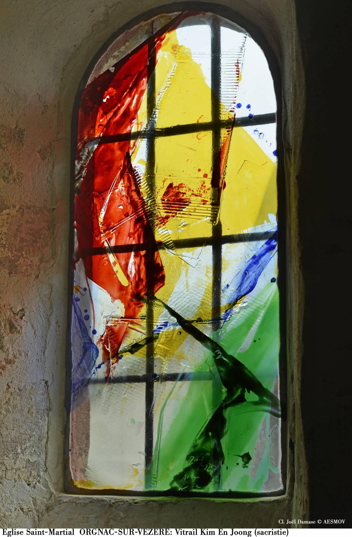 Orgnac-sur-Vezere (19) Eglise Saint-Martial - Sauvegarde de l'Art français
