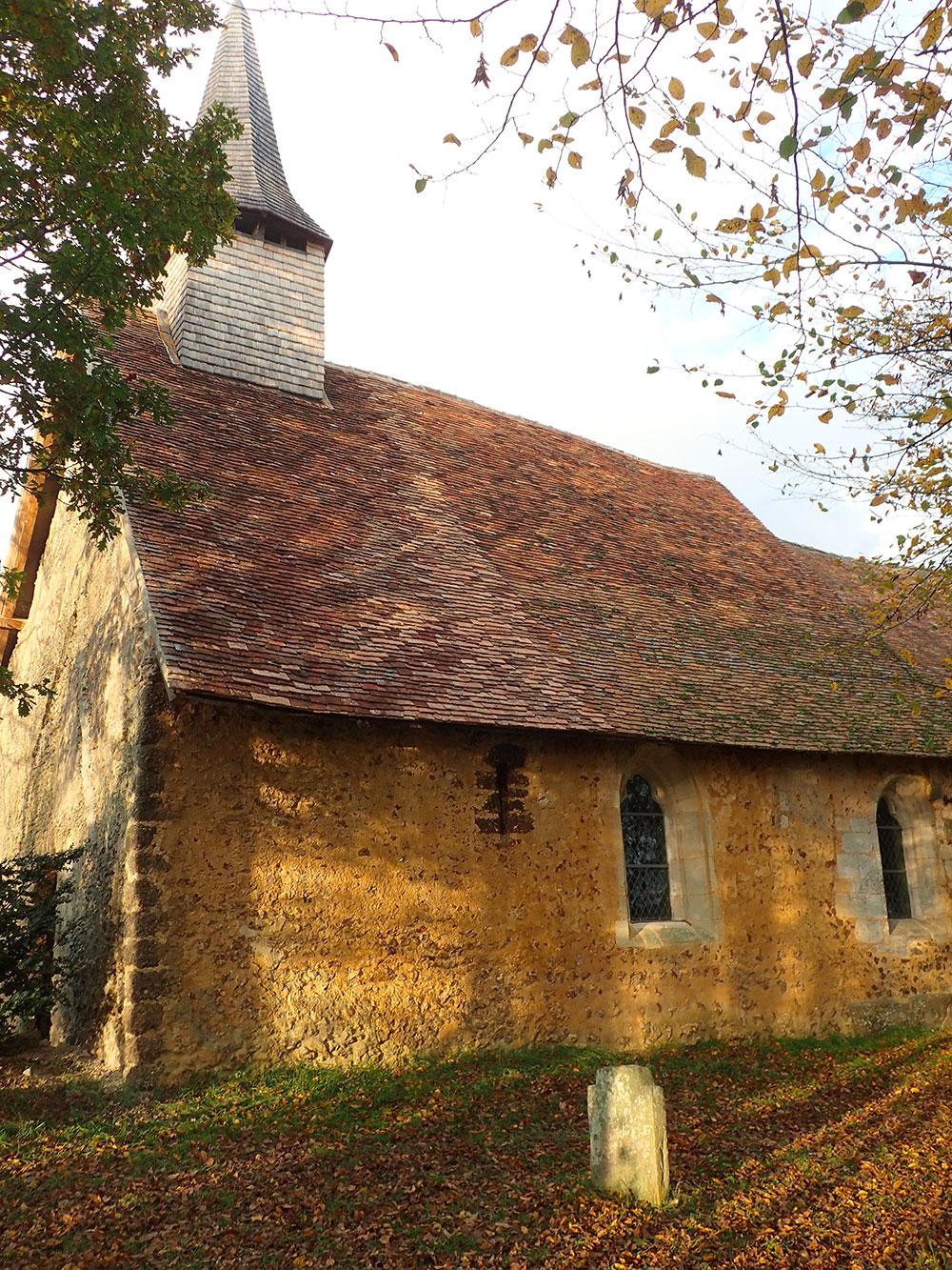 Beaumesnil (27) -église de Pierre-Ronde - La Sauvegarde de l'Art Français
