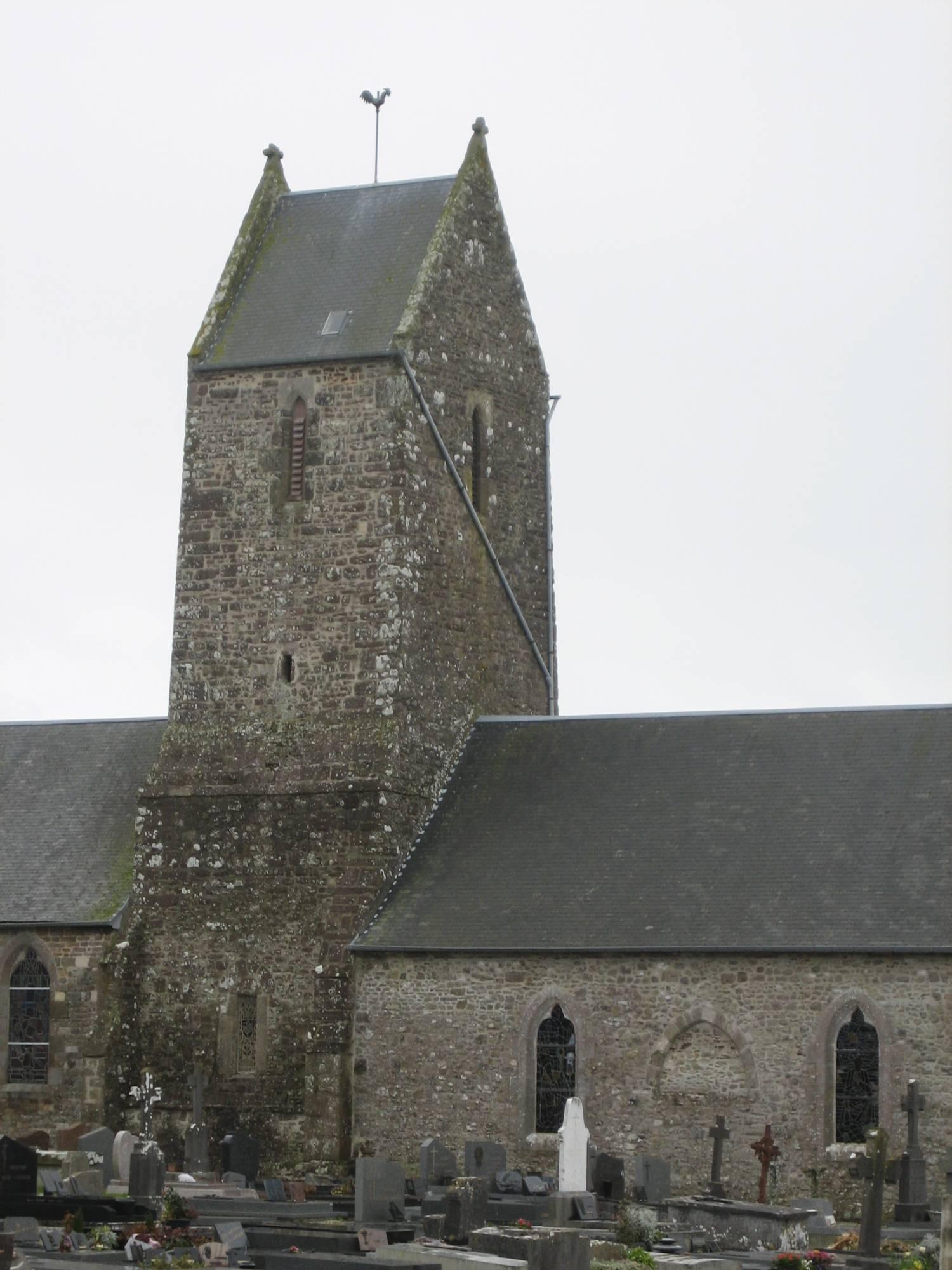 Tourville-sur-Sienne (50) Eglise Notre-Dame