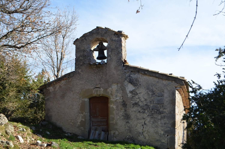 Saint-Nazaire-le-Désert (26) Chapelle Saint-Thomas du Petit-Paris - Sauvegarde de l'Art Français