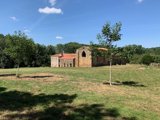 Bournezeau (85) - abbaye Sainte-Marie du Gué de Trizay