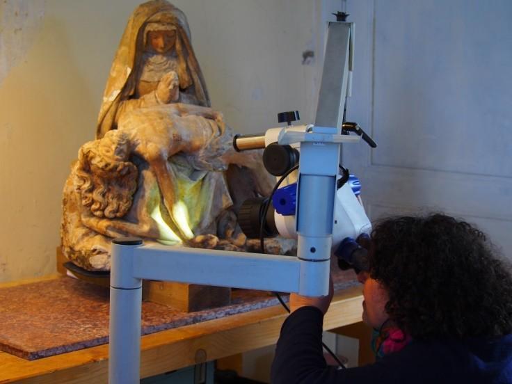 Albi (81) Vierge de Pitié - Cathédrale Sainte-Cécile - Sauvegarde de l'Art Français