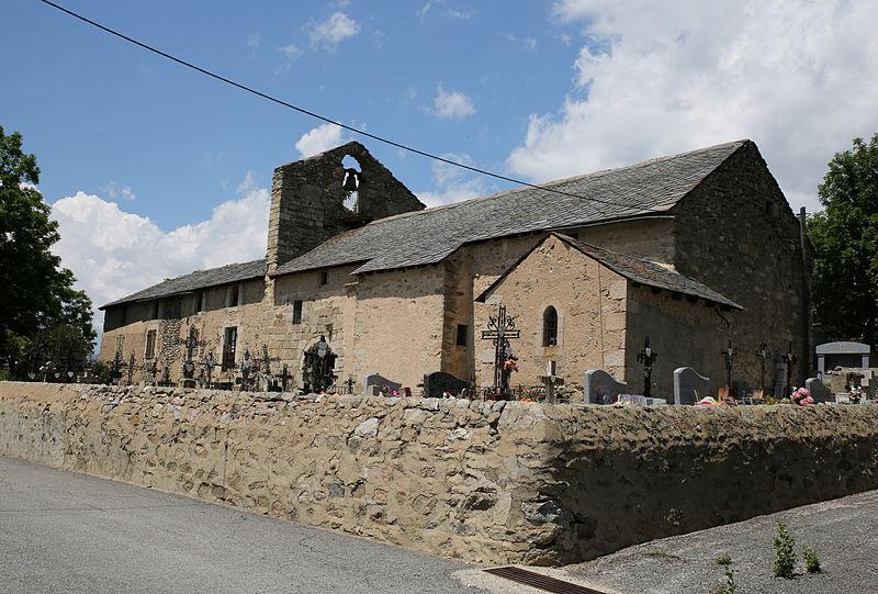 Font-Romeu-Odeillo-Via (66) Chapelle Sainte-Colombe de Via et son presbytère - Sauvegarde de l'Art Français