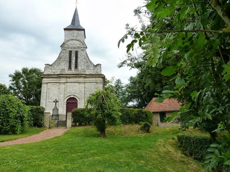 Neulette (62) - église Saint-Hubert