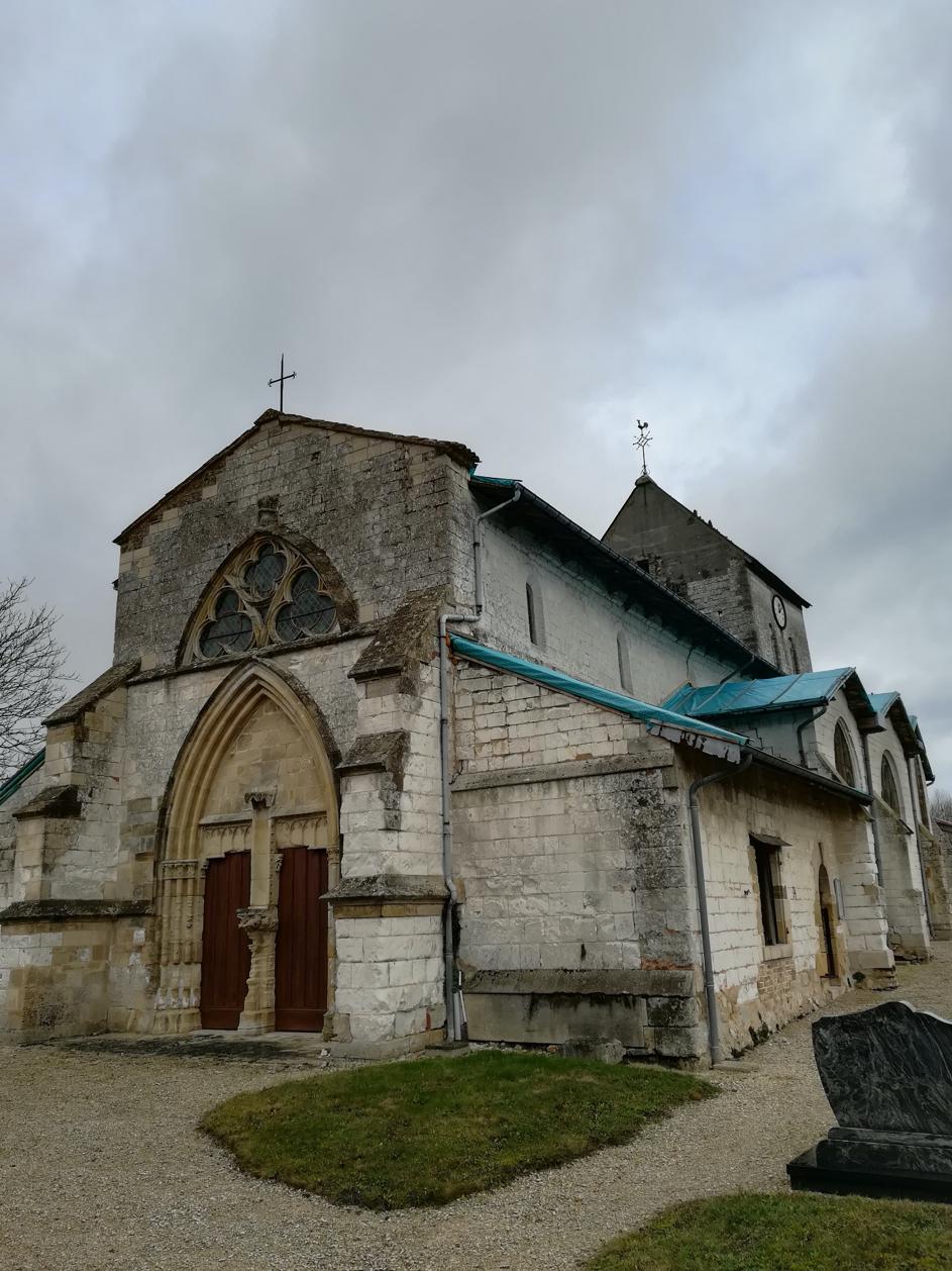 Courtisols (51) - église Saint-Memmie - La Sauvegarde de l'Art français