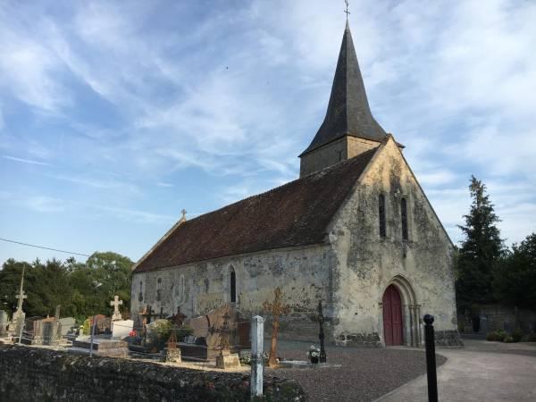 Loucé (61) - église Saint-Brice - La Sauvegarde de l'Art français