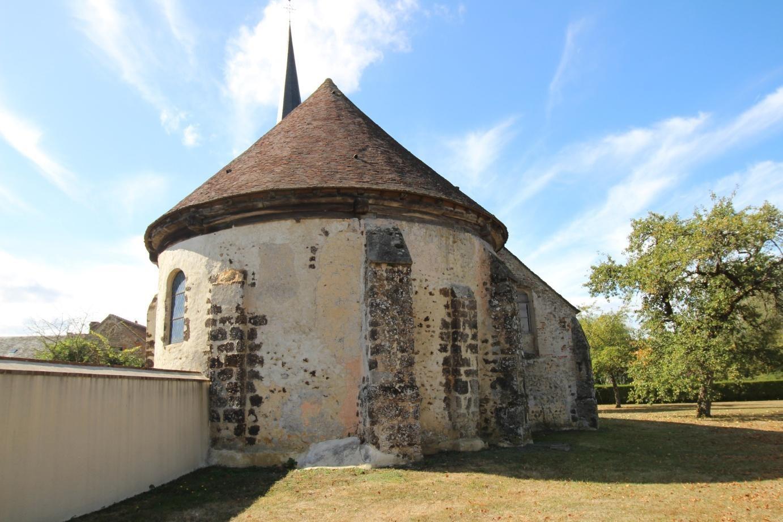 église sainte-Anne, la Saucelle (28) - La Sauvegarde de l'Art Français