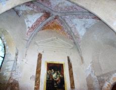 abside travaux en cours - Berzé-la-Ville (71)