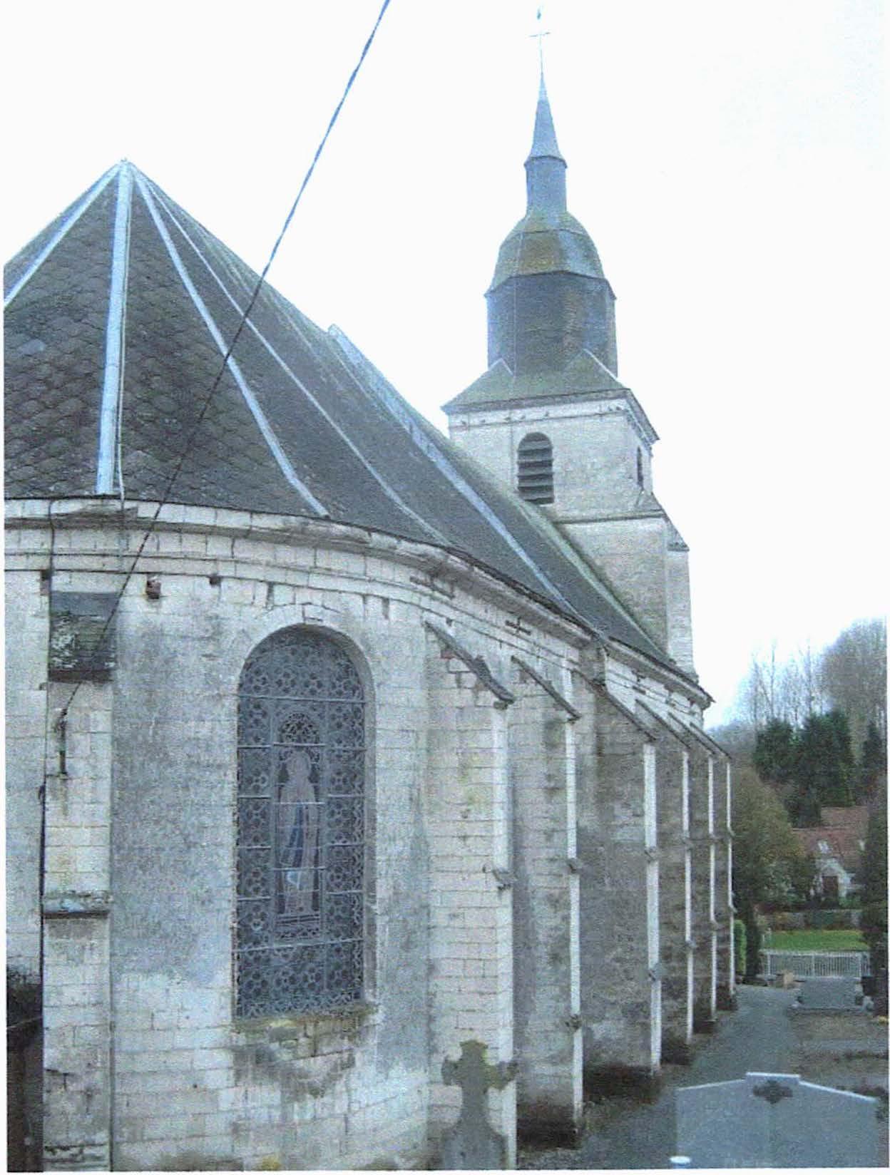 Buire-au-Bois (62) Eglise Notre-Dame