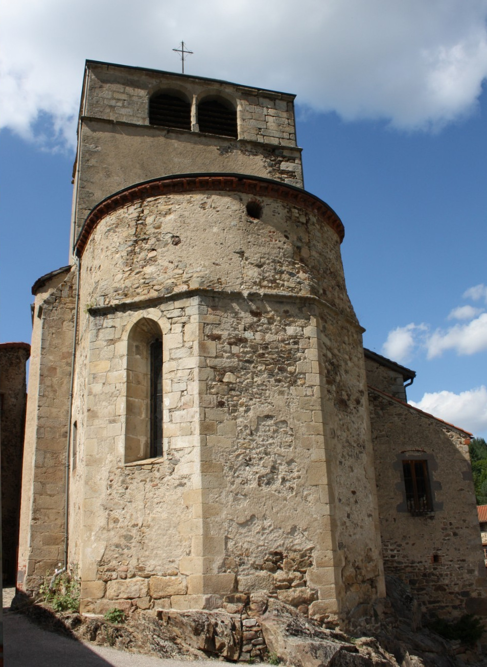 Saint-Vert (43) Eglise Saint-Jean-Baptiste
