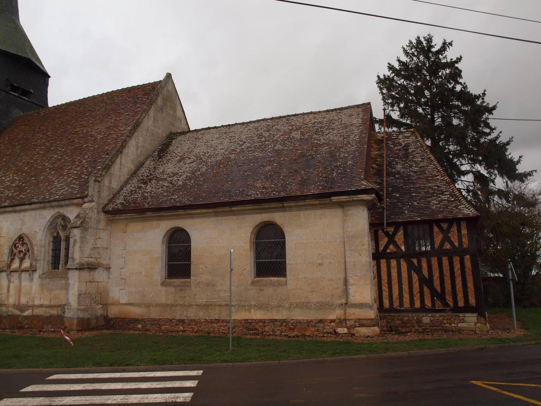 Tilleul-Dame-Agnès (27) - église Saint-Martin