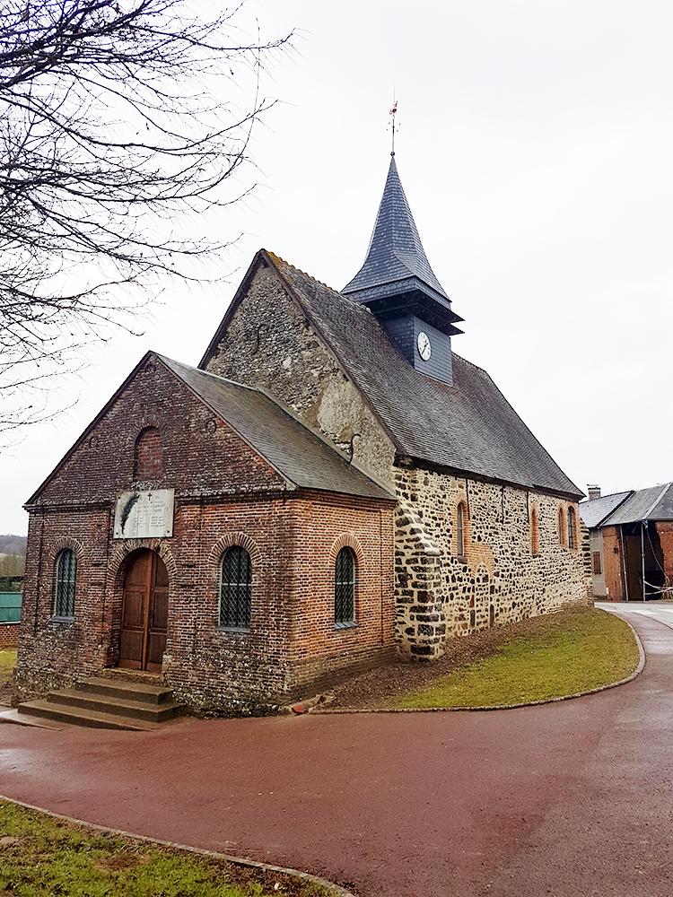 Lhéraule (60) - église Saint-Claude - La Sauvegarde de l'Art Français