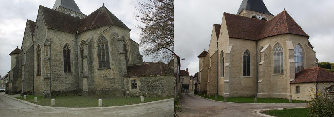 Avirey-Lingey (10) - église Saint-Phal