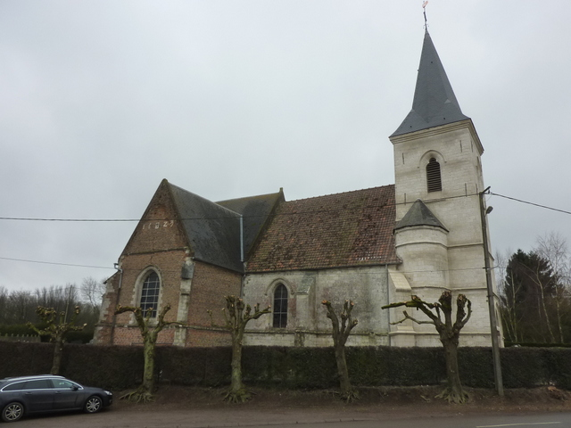 Bailleur-lès-Pernes (62) Eglise Saint-Omer Fondation La Sauvegarde de l'Art Français