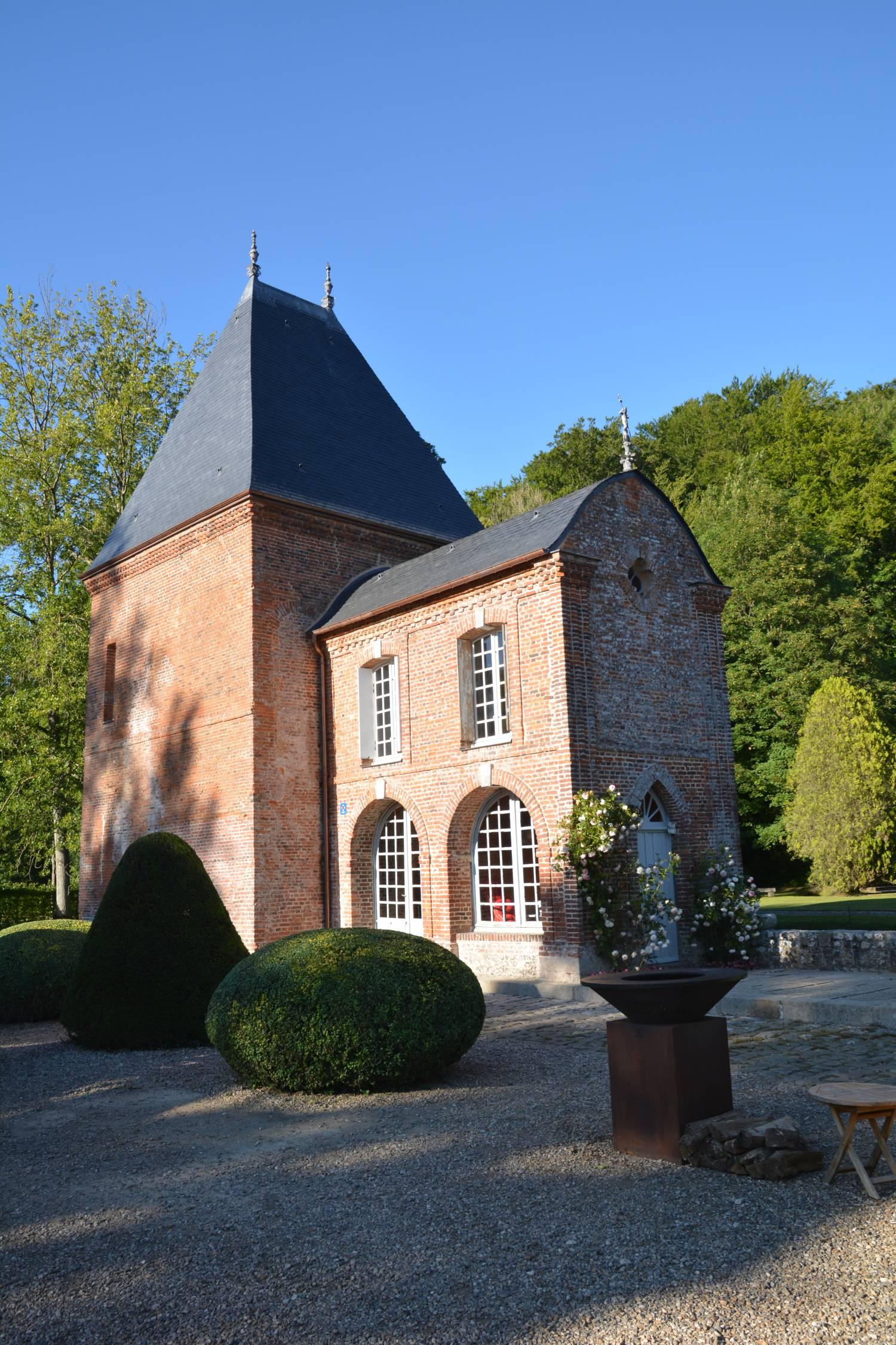 Imbleville (76) Chapelle du Château du Vivier