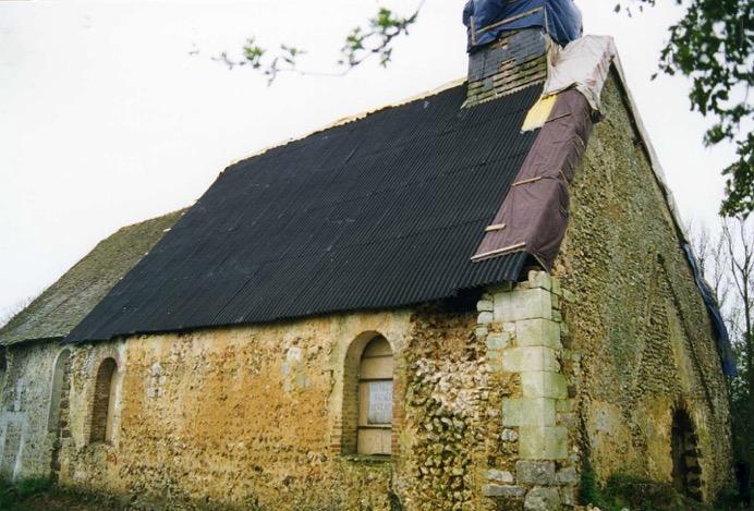 Beaumesnil (27) Eglise de Pierre-Ronde - Sauvegarde de l'Art Français