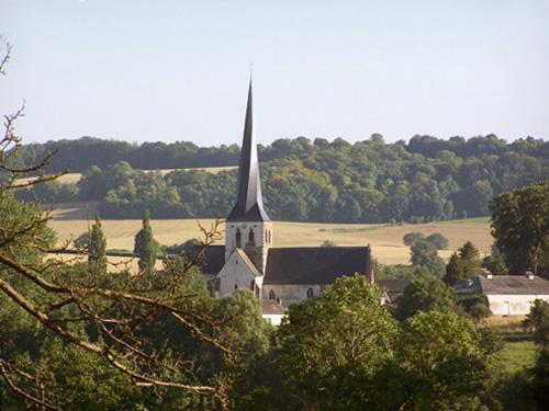 Bures-en-Bray, Église Saint-Etienne-Saint-Aignan