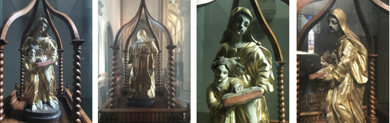 Roanne Statue Sainte Anne SAF