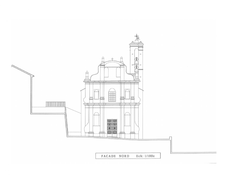 Bisinchi (2B) Eglise Saint-Michel Fondation La Sauvegarde de l'Art Francais