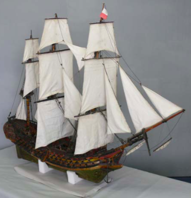 Cuffy Maquette bateau PGMF