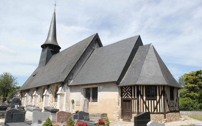 Epreville-en-Lieuvin (27) - église Saint-Pierre