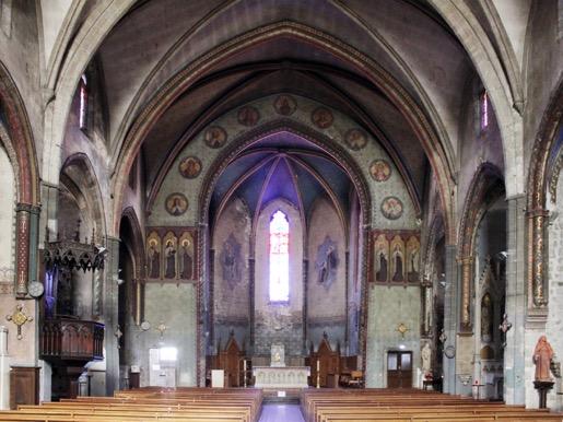 Carcassonne (11) église Notre-Dame du Mont-Carmel - La Sauvegarde de l'Art français