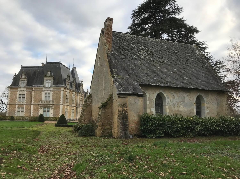 Précigné (72) Chapelle Saint-Jean-Baprtiste du Château de Bois-Dauphin - Sauvegarde de l'Art Français