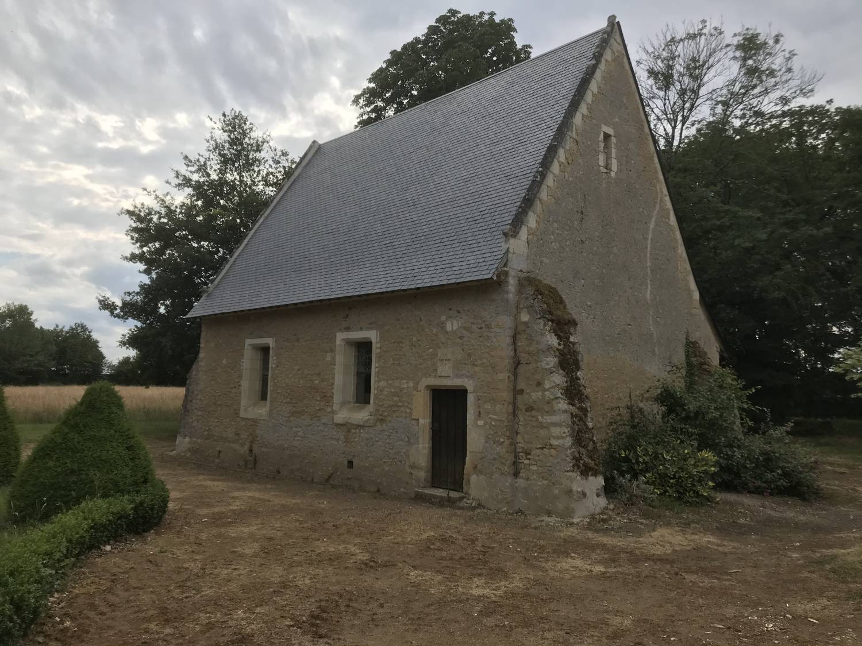 Précigné (72) Chapelle St Jean Baptiste du Chateau de Bois-Dauphine - Sauvegarde de l'Art Français