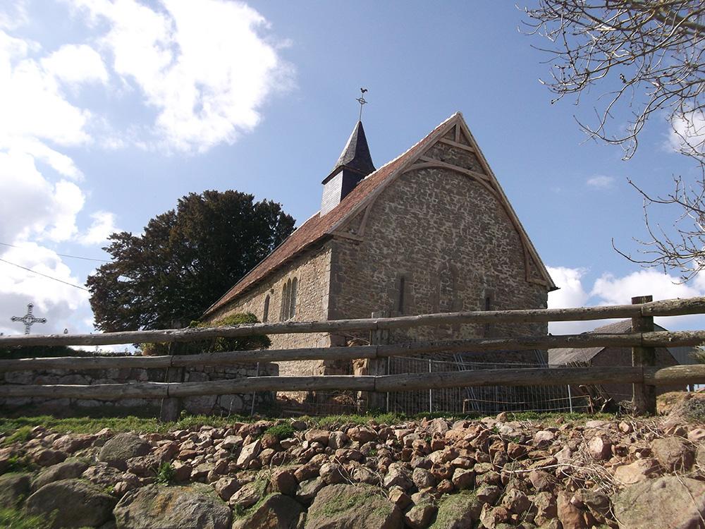 Chênedouit (61) Église Saint-Sébastien de Méguillaume - La Sauvegarde de l'Art Français