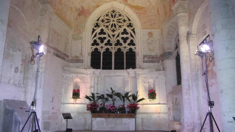 Rigny-Ussé (37) Eglise Notre-Dame de Rigny - Sauvegarde de l'Art Français