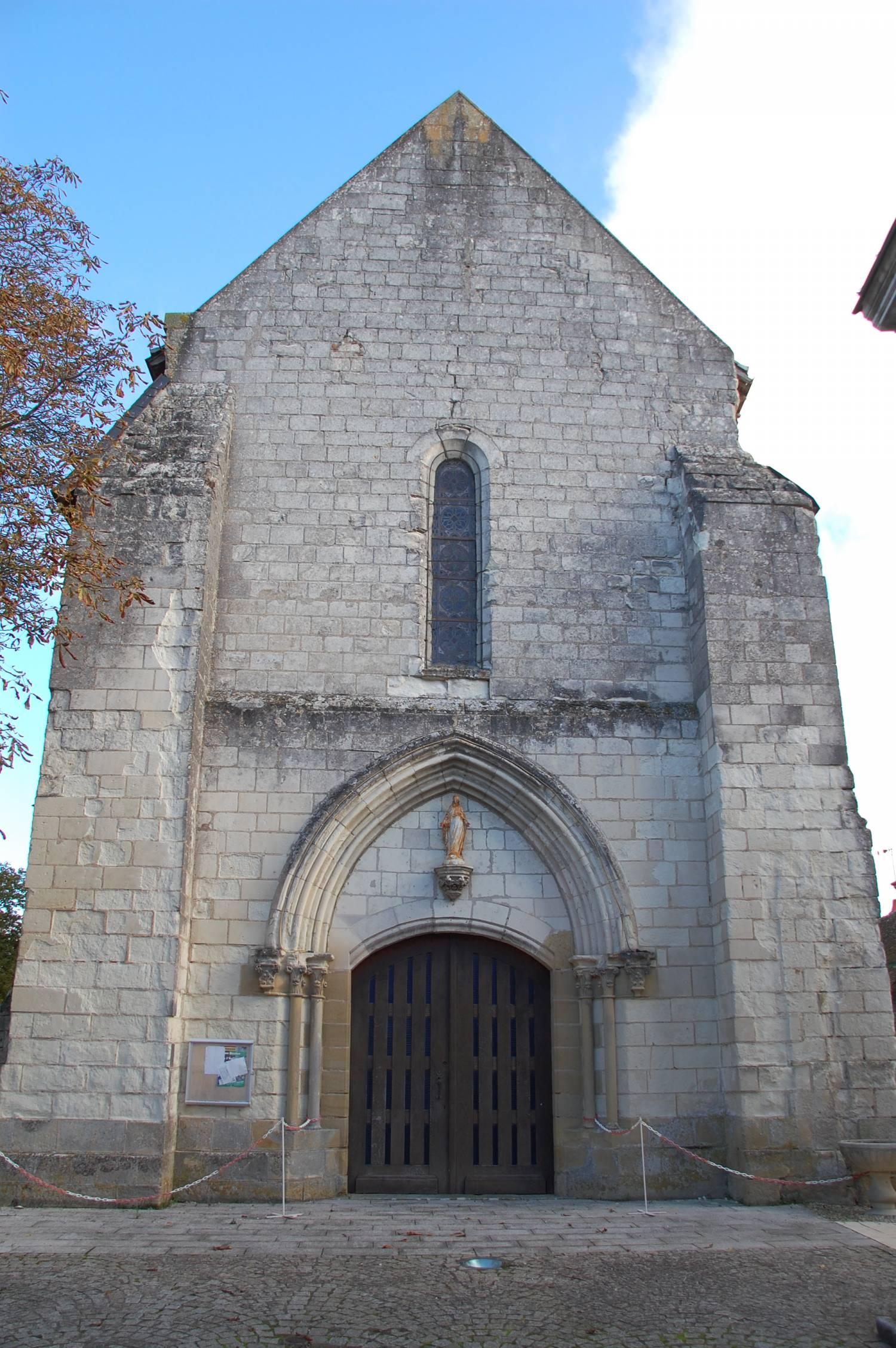 Sepmes (37) - église Notre-Dame-de-l'Assomption - La Sauvegarde de l'Art Français
