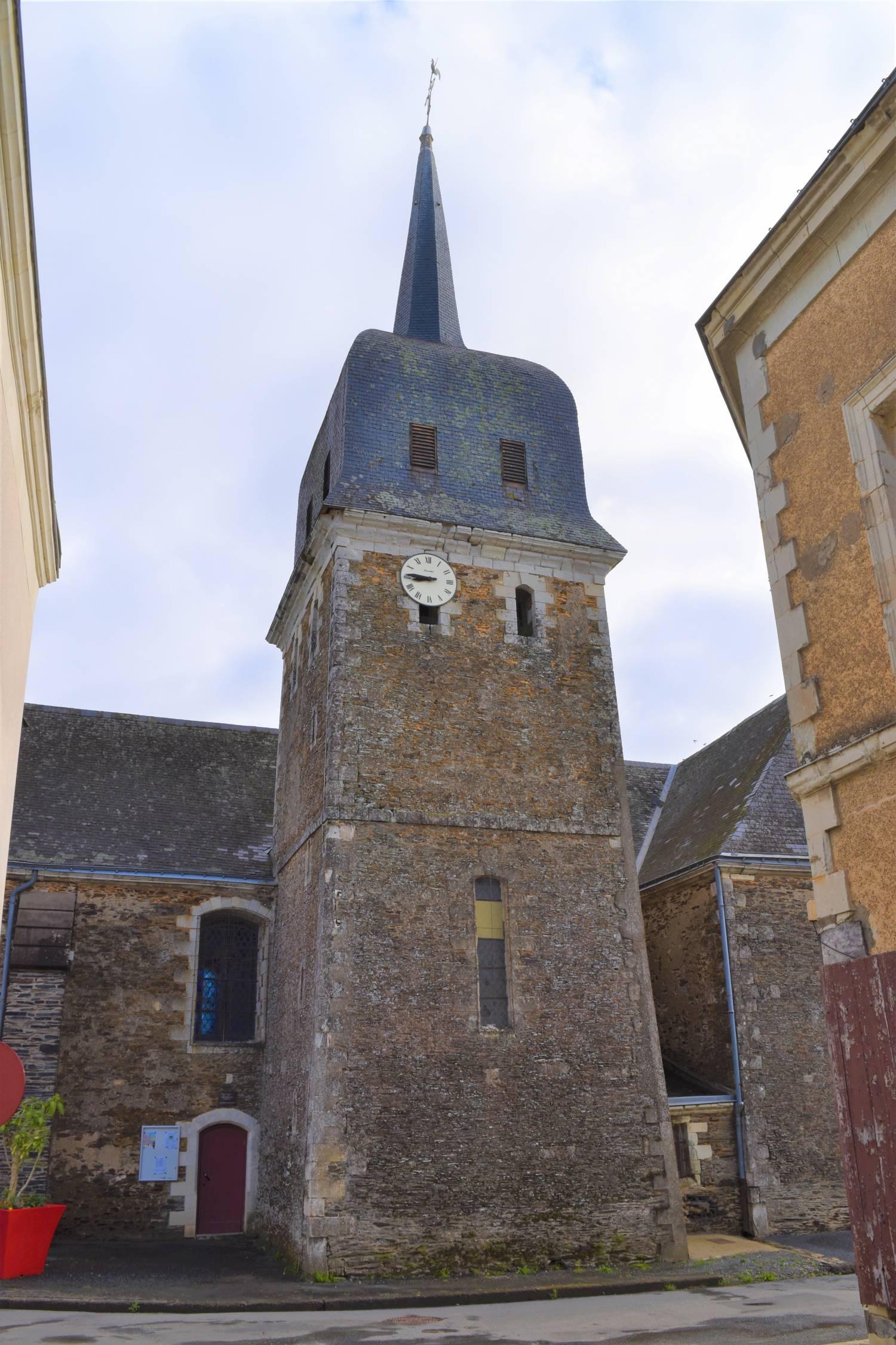 Segré-en-Anjou-Bleu (49) - église Saint-Martin de la Chapelle-sur-Oudon - La Sauvegarde de l'Art Français